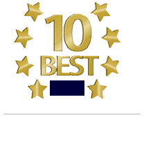 10 Best Award in 2016 by the American Institute of Family Law Attorneys